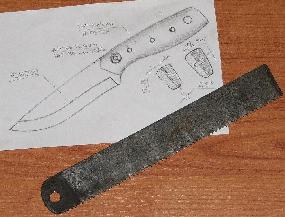 Нож своими руками изготовление ножей