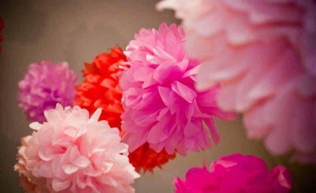 Сделать цветок из бумаги своими руками видео фото 203