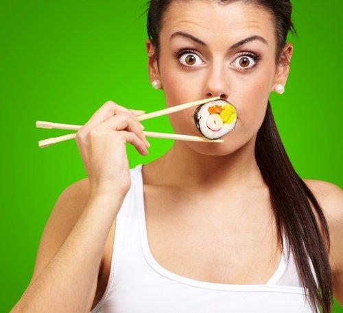 Как есть палочками китайскими палочками