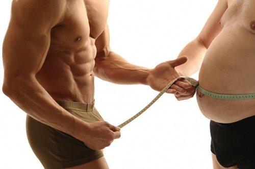 Видео упражнения для похудения живота мужчины дома