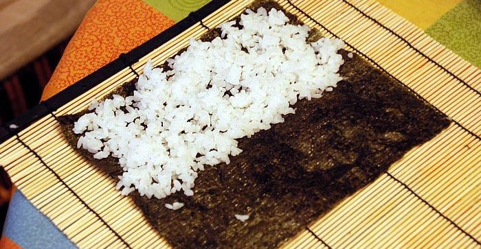 как приготовить рис на суши в домашних