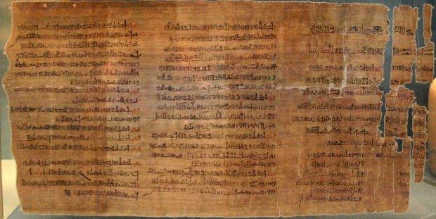 Как хранили папирусы