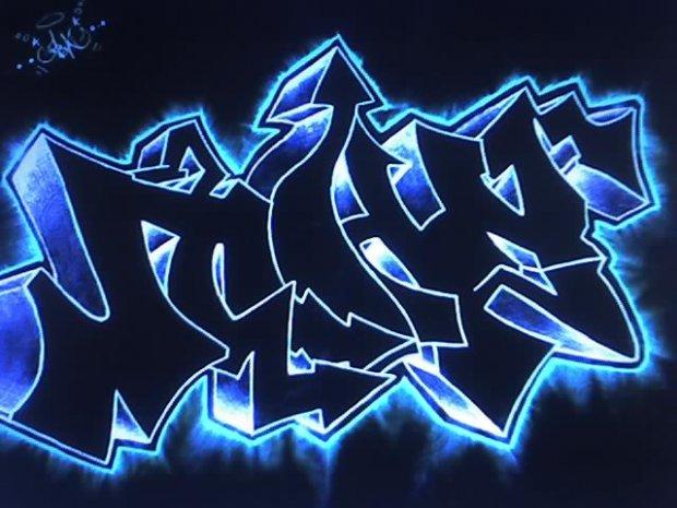 Как нарисовать граффити для начинающих