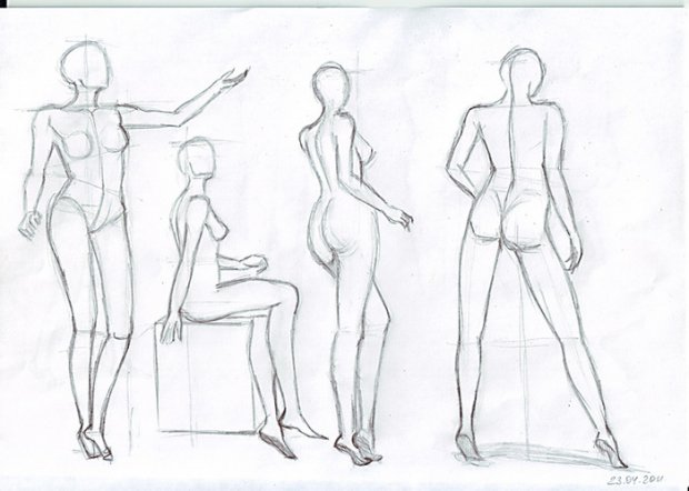 Как научиться рисовать человека: find-the-answer.ru/31-kak-nauchitsya-risovat-cheloveka.html