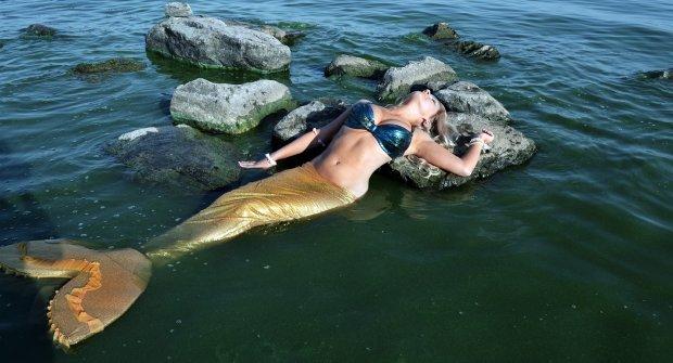 Как стать русалкой из H2O