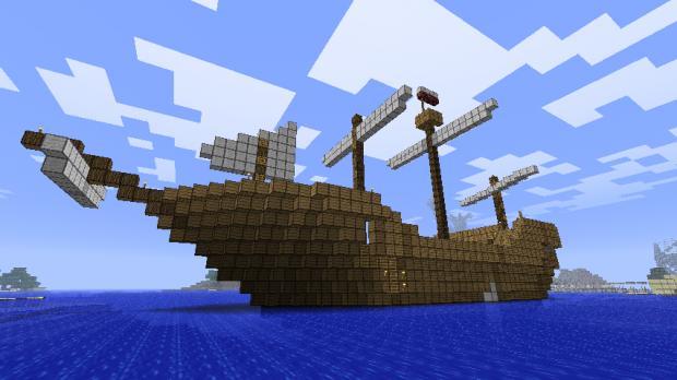 Как сделать лодку в минекрафте
