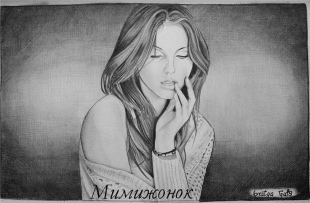 Как нарисовать лицо девушки: find-the-answer.ru/184-kak-narisovat-portret-devushki.html