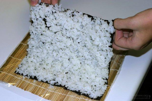 Как варить рис для роллов в домашних условиях