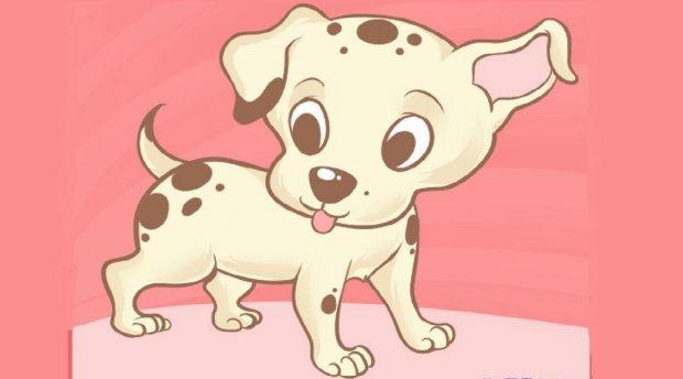 Как нарисовать щенка