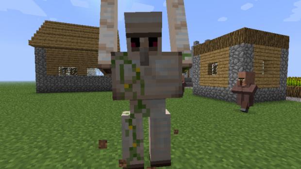 Как сделать железного голема в Minecraft