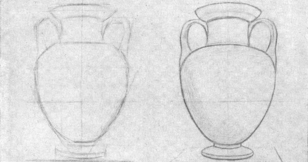 ваза рисунок:
