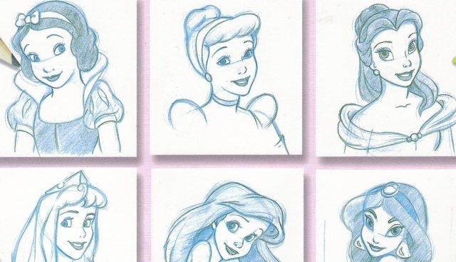 как нарисовать красивое лицо девушки: