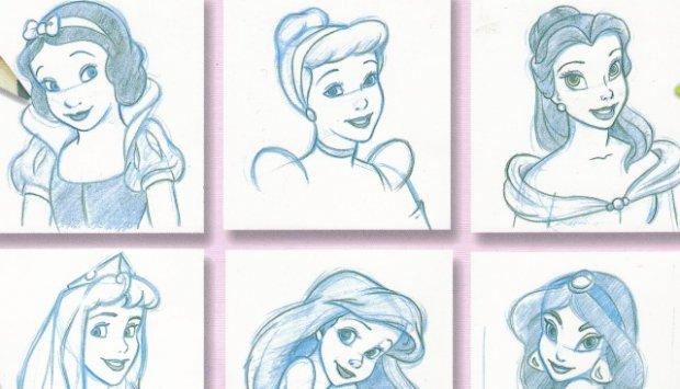 Как рисовать принцессу