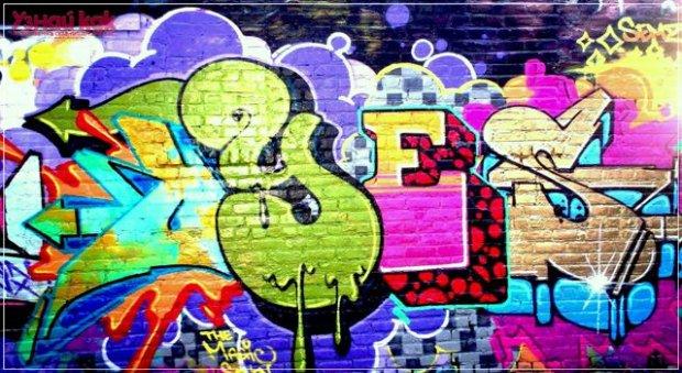 Как рисовать граффити для