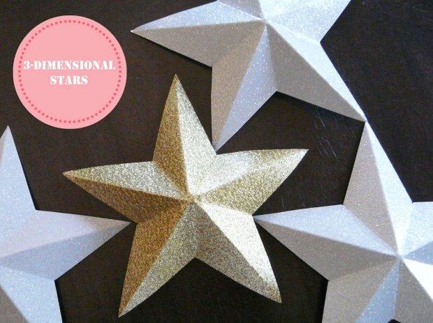 Как делать из бумаги звезду