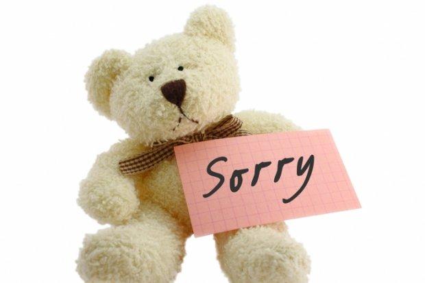 Как у девушки попросить прощения